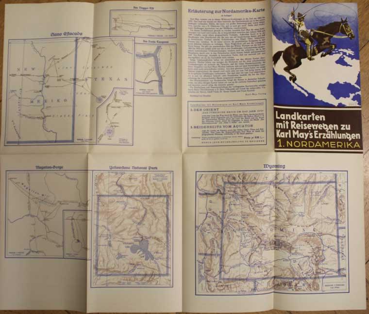 Karl May landkarten